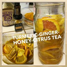 """14 Likes, 1 Comments - Elke Tapia (@etapia_kwan) on Instagram: """"DIY Turmeric-Ginger-Honey-Citrus Tea  Great for when you're feeling under the weather!  RECIPE:  2…"""""""