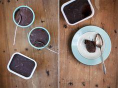 Vegan Fudge Brownie Cups. Lovely.