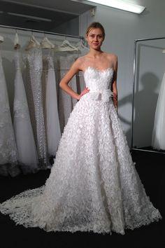 Mira Zwillinger New York Bridal Week 2015 (BridesMagazine.co.uk)