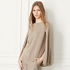 94801576 - Cashmere Sweater Cape