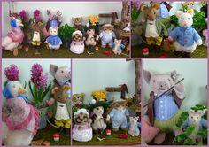 "Steiff stuffed animals ""Peter Rabbit"" by ""Beatrix Potter"""