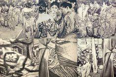 Kimono mosaic 1 (Furisode)