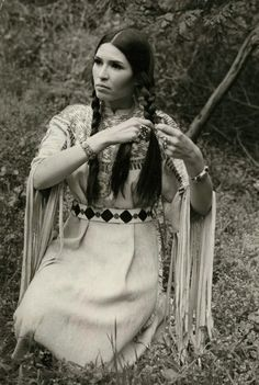 Sasheen Littlefeather who accepted Marlon Brando's Oscar in 1973. Brando was protesting against the mistreatment of Native Americans in the USA, including at Wounded Knee II. To read about that protest led by Russell Means, read my post here http://traditionalnativehealing.com/wounded-knee-ii-fight-for-the-native-rights