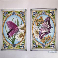 Found this in my drawing with printed picture. I think it was a freebie from Christine Aldridge a while ago. It turned out quite the opposite of what my plan was, as it often do, but I'm happy with it @claldridgeart #coloring #coloringpage #coloringtherapy #flowers #butterfly #coloring_repost #claldridgeart