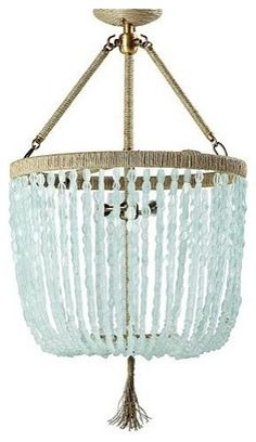Sea Glass Beauty by Seychelles Chandelier, beautiful - I sooooo want this!
