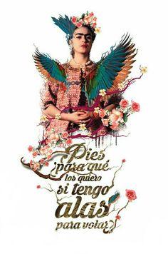 Pues para que los quiero #Frida #Kahlo #Fondo #Wallpaper #IPhone #Samsung #Twitter #Facebook #Whatsapp #Ilustracion #Beautiful