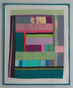 Improvisational quilt by Catherine Redford. 2016 Road to California class.