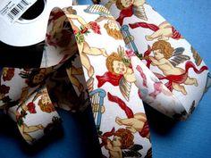 Cherub Angels Cotton Ribbon Trim Multi / by PrimroseLaceRibbon, $3.00