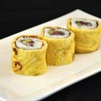 Sushi recept: Tonijn Tamago Sushi!