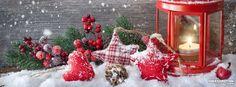 Christmas Lantern Facebook Cover