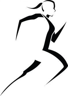 Runner Silhouette Clip Art Runner logo clip art runner
