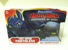 2013 Convention Exclusive Toothless. So cool! Ordered from FoxConnect with DVD two-pack.