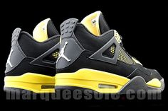 Jordan Brand are ready to rumble with a retro of the Thunder Air Jordan 4. Based on the 1996 Tour Yellow and black colourway that was a tie-in with Michael Jordan Motorsports, there's no word …
