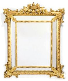 Louis XV Style Gilt Composition Marginal Mirror