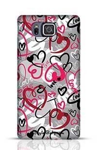 Love-Print Samsung Galaxy Alpha G850 Phone Case