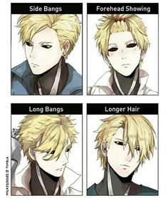<3 i really love the memes regarding different types of hair, because it makes the characters look cool, and we get to see a slightly different designe.
