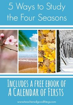 Totally free earth science curriculumonline textbook free 5 ways to study the four seasons joyinthehome fandeluxe Gallery