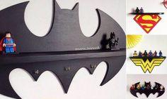 Superhero Toy Shelves