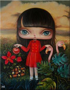 Paulina Góra - Illustration - Surreal Portraits