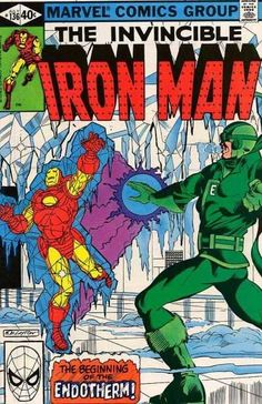 Iron Man #136 - The Beginning Of The Endotherm!