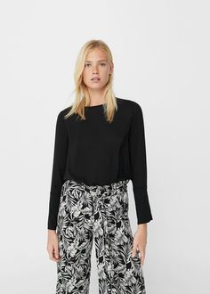 Flowy blouse - Women | USA