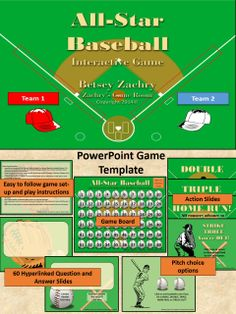 Create Your Own BaseballStyle Review Games With This Neat