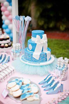 torta de fiesta cinderella