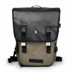 Muli Photo Half Backpack Black / Khaki The Muli Half Photo Backpack is a camera backpack made from robust matt tarpaulin and Chicken Tex™ Nylon, with zip through trapdoor and space for a laptop plus tablet. Your SLR camera and lenses will be