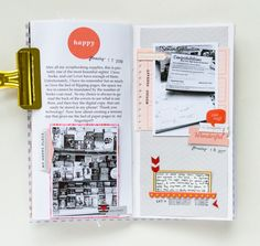 MY PERSONAL JOURNAL - Week 3 Small Journal, Memory Journal, Photo Journal, My Scrapbook, Scrapbook Supplies, Scrapbooking Ideas, Smash Book, Project Life Layouts, Travel Memories