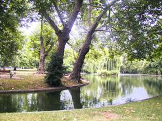 Le Vesinet.   Les Ibis lake