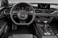 Cambio automatico doppia frizione, sospensioni elettroniche e tanto altra elettronica: i 300km/h sono superati con ....tanto comfort! #AudiRS7Sportback