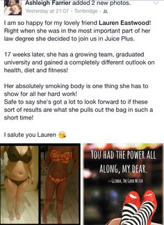 More fab results + from 1 of our team! Well done! A rising star!  #health #nutrition #bossbabe #financialfreedom