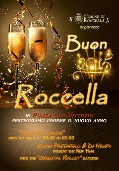 Radio Gioiosa Marina Service Audio Luci in piazza a Roccella Jonica per il capodanno 2015