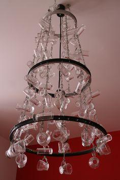 luminaria de vasos