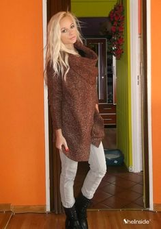 Red Ouch Cardigan Sweater - Style Gallery & Lookbook of SheIn www