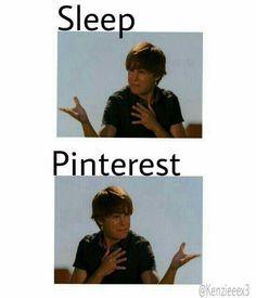 Current dilemma... Sleep? Or Pinterest?