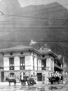 https://flic.kr/p/MEXgw   Botafogo   Prédio do Corpo de Bombeiros do Humaitá, na Rua São Clemente. Possui a mesma aperência até a presente época.