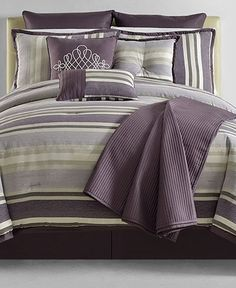 Closeout! Gavin 10 Piece Full Comforter Set