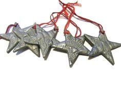 Polymer Clay Christmas Star Decoration £1.00