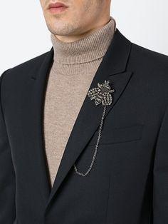 Dolce & Gabbana декорированная брошь в виде пчелы