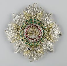Star of the Order of the Bath, 1838, 68mm x 68 mm, Rundell, Bridge & Co., commissioned by Queen Victoria.