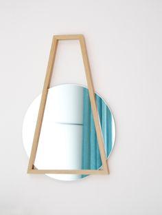 Trapezio mirror - Adele Rotella