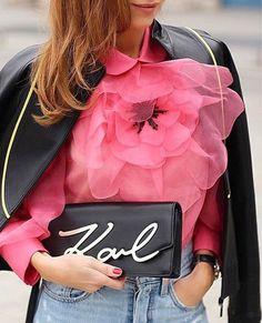 Via @koronacrown 🌸 #worldsuniquedesigns #loveit #love #pink #woman #style #streetstyle #fashion #look #womanslook #streetlook #flowers #iloveflowers #stylish #fashionlove #designer #designlove #styling #womansstyle #streetfashion #likepost #likelikelike