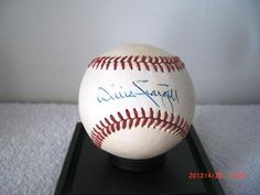 Willie Stargell Autographed Baseball | crazycollectors.com