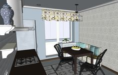 kitchen - dining place