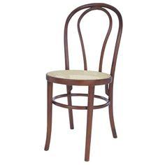 Cadeira Elite, Thonart, assento em palha