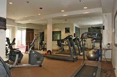 Exercise Room - This condo has everything plus!