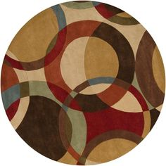 Artistic Weavers Seletar Brown 8 ft. Round Area Rug-MCL-7108 - The Home Depot