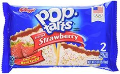 PopTarts Toaster Pastries Frosted Strawberry 36Count Box >>> Check out this great product.
