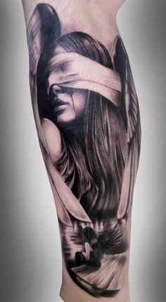 Girl Portrait Tattoo - 50 Amazing Girl Tattoo Designs  <3 <3